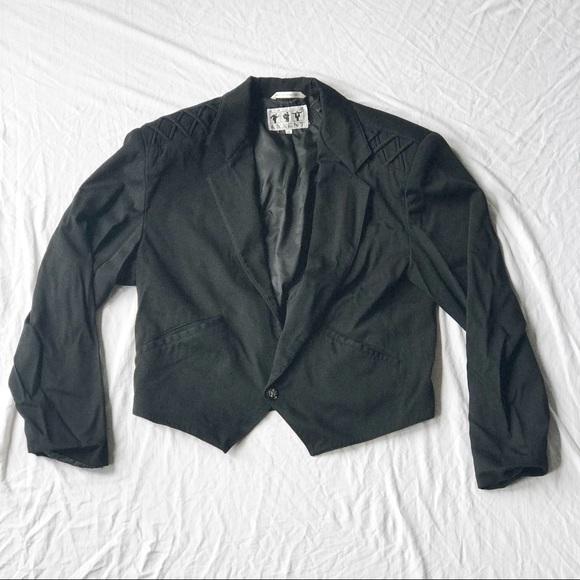 Major Axxent Jackets & Blazers - Punk Tuxedo Blazer